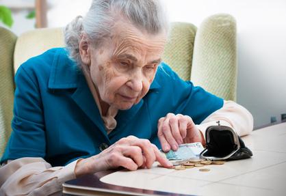 Stichwort Altersarmut: Frauen sind besonders gefährdet