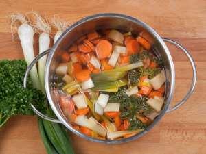 gesunder Gemüseeintopf