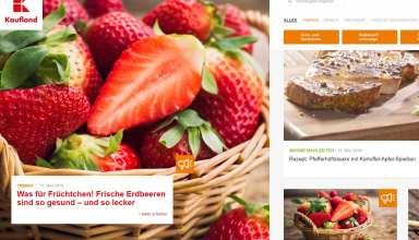 Frische Tipps und leckere Rezepte: Im neuen Onlinemagazin von Kaufland