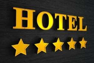 5 Sterne Hotel Schild