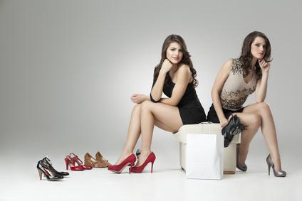 Die Wual der wahl beim Schuhkauf