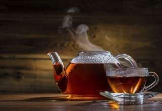 Teekanne und Tasse