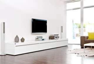 Clean-chic im Wohnzimmer